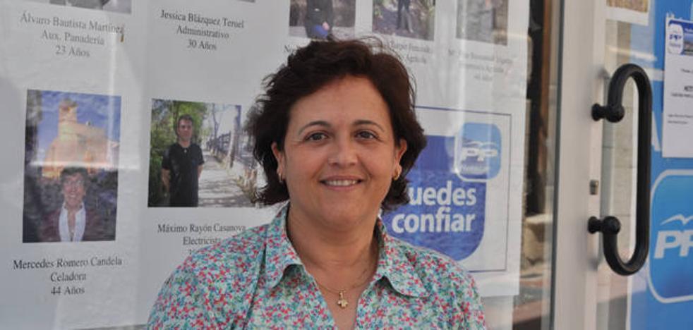 El PP elige otra vez a Soledad Martínez como candidata a la alcaldía de Huéscar