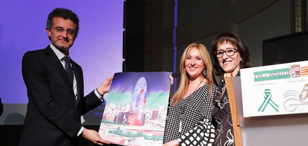 Baza participa en el 50 aniversario de la fundación de la Casa de Andalucía en Barcelona