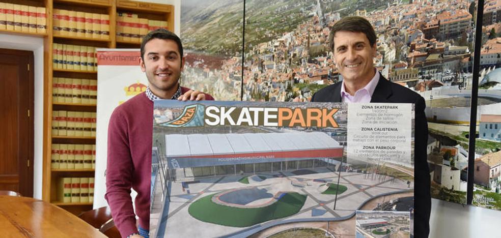 Los jóvenes de Baza contarán con un Skate Park para practicar deportes urbanos