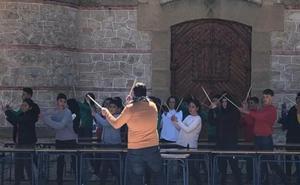 Musiqueando en el colegio de Puebla de don Fadrique