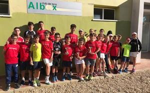 Exitoso fin de semana de los jóvenes tenistas bastetanos