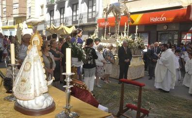 Las parroquias y cofradías de Baza celebran el Corpus Cristi
