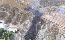 Controlado un incendio en Cortes de Baza
