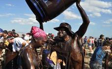2.500 kilos de pintura negra ecológica esperan al Cascamorras para impedir que se lleve a la Patrona de Baza