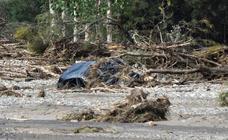 Las imágenes del temporal en Baza