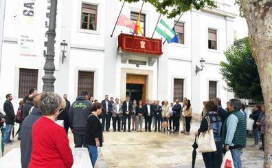 Baza celebra un minuto de silencio por el fallecimiento de Francisco Campoy