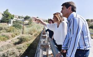 Susana Díaz anuncia que el PSOE presentará una iniciativa urgente para ayudar a los municipios afectados por la gota fría