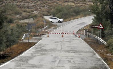 Benamaurel pide que el ejército ponga un puente provisional sobre el río Baza