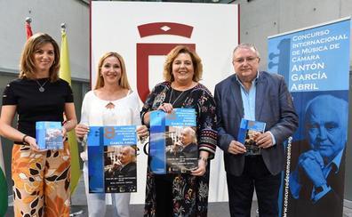 Este miércoles comienzan en Baza la VIII edición del concurso de música de cámara «Antón García Abril»