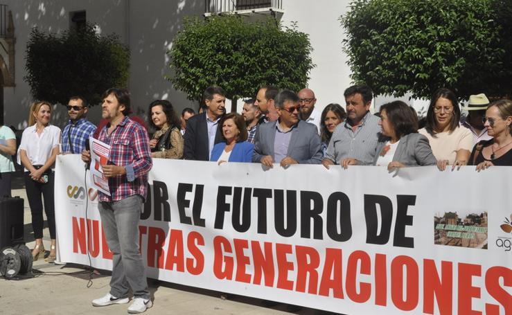 Baza se echa a la calle para apoyar el movimiento ciudadano España Vaciada
