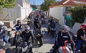 300 motoristas en el V encuentro de Puebla de Don Fadrique