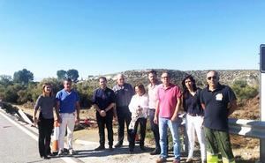 El PSOE pide a la Junta «máxima urgencia» para la construcción del nuevo puente en la carretera de Benamaurel