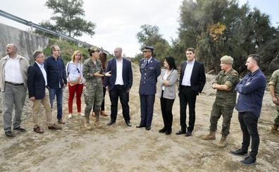 El puente militar sobre el Río de Baza podría estar instalado en diez días