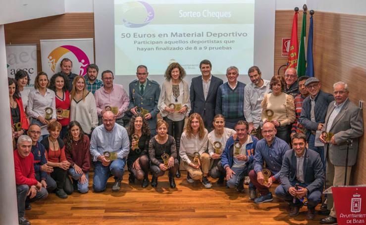 La entrega de premios Circuito de Carreras Populares Baza, en imágenes