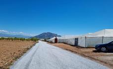 Zújar mejora su red de caminos rurales