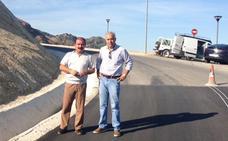 Diputación termina la corrección y estabilización de un deslizamiento de terreno en el acceso a La Iruela