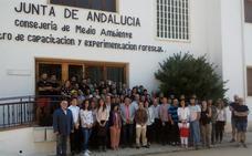 55 alumnos inician el curso de 'Gestión Forestal' en Vadillo Castril