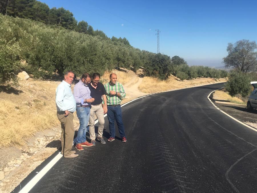 La Junta finaliza trabajos de refuerzo del firme en la carretera del Puerto de Tíscar, que mejora la seguridad vial en la A-6206