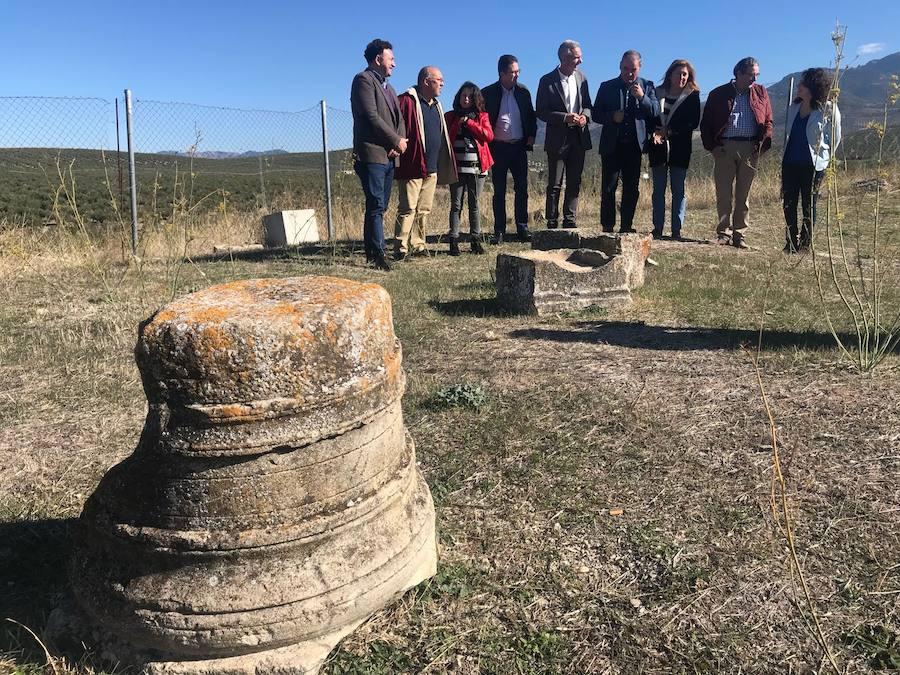 La Consejería de Cultura destina 360.000 euros a los trabajos de recuperación y preservación de la villa romana de Bruñel