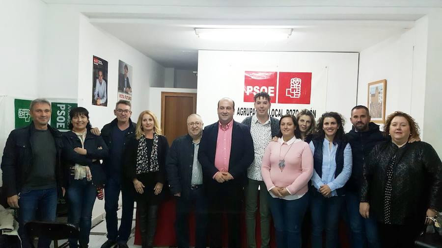 Ivan Cruz, reelegido por unanimidad secretario general del Psoe de Pozo Alcón