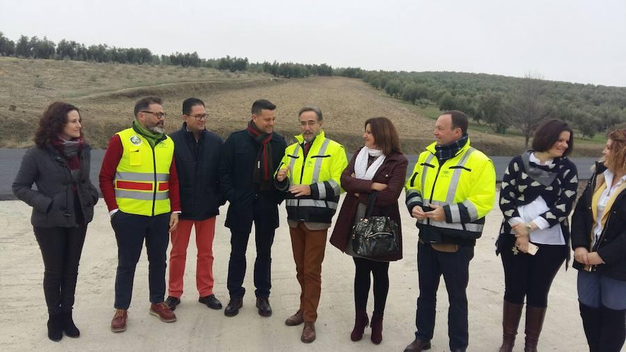 La Junta ejecuta obras de mejora de la seguridad vial en el eje de la A-315 por valor de 3,7 millones de euros