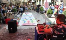 El arte colorea las calles de Cazorla