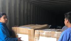 Quesada Solidaria envía 10.000 kilos de material a la zona de Guatemala afectada por la erupción del volcán de Fuego