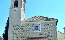 La iglesia de Churriana de la Vega culmina una obra para recuperar el aspecto original de su fachada