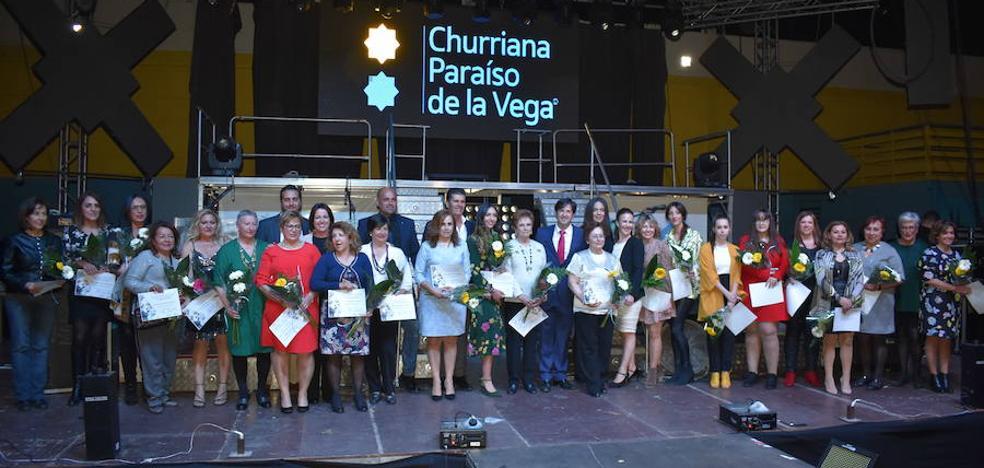 Churriana de la Vega recibe la visita de Irene Villa con motivo de los actos del mes de la Mujer