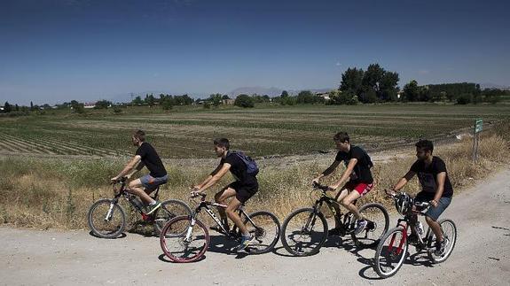 Granada al pedal