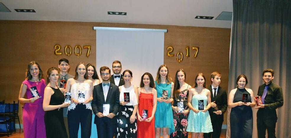 El Conservatorio de Música despide a su joven quinta promoción de músicos