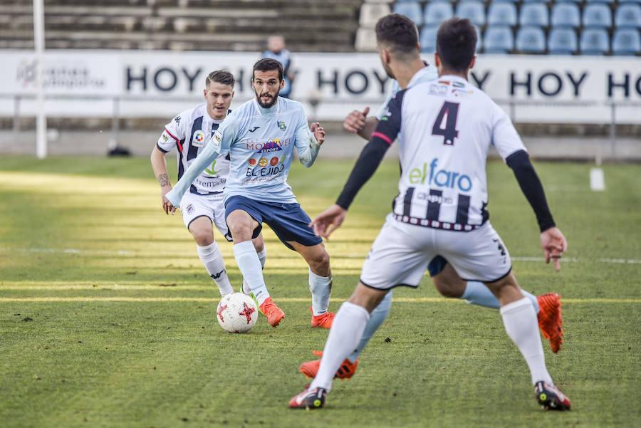 Las jugadas del partido Badajoz - CD El Ejido