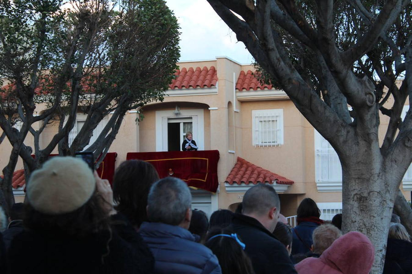 Procesión del Santísimo Cristo de la Buena Muerte y Nuestra Señora de las Angustias en La Loma de la Mezquita