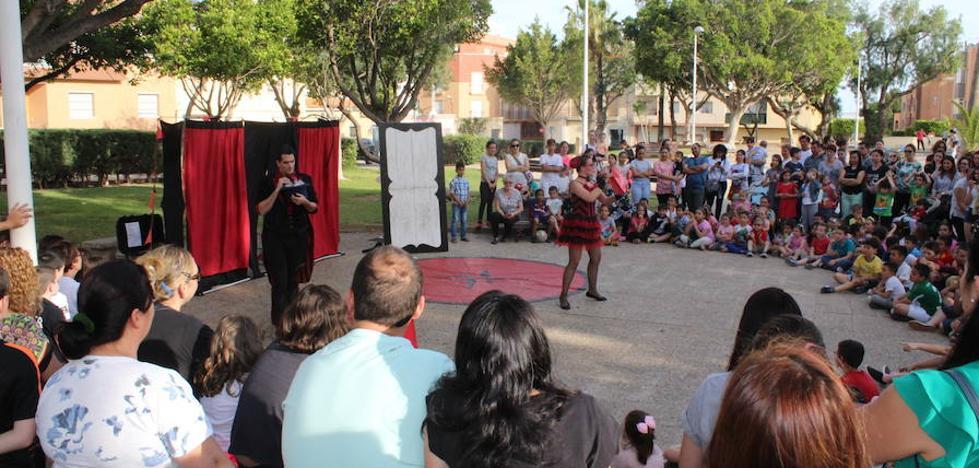 Santa María del Águila se suma al Festival de Teatro con Circus Day