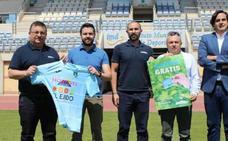CD El Ejido y el Grupo Cristalplant con el lema de 'El Campo Nos Une'