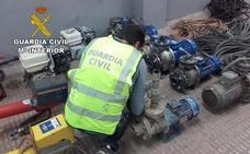 Sustraen trece motores de riego en fincas de El Ejido y Vícar