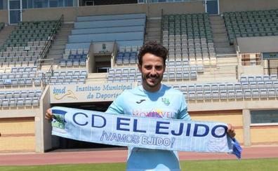 Álvaro González: «Vengo a jugar el playoff con el CD El Ejido»