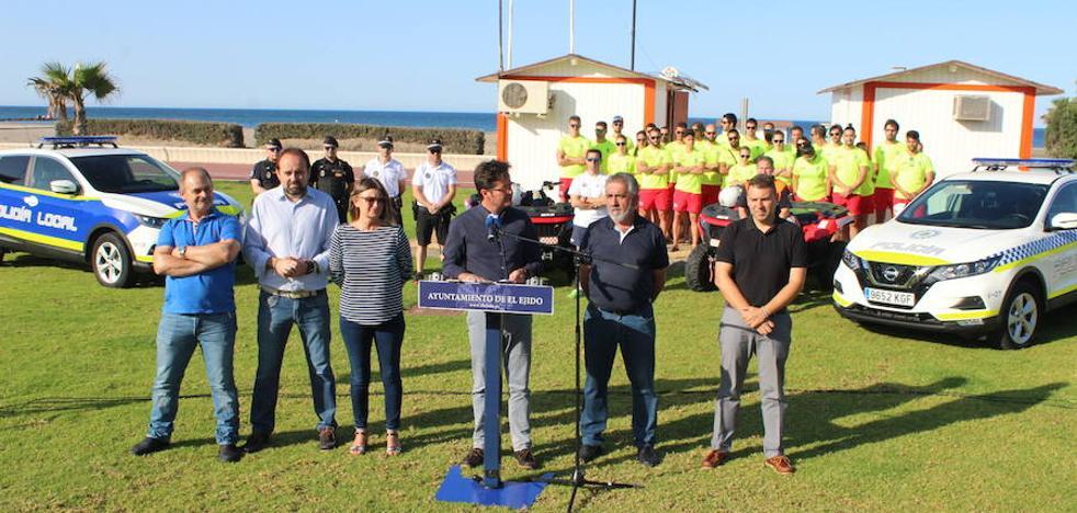 Un centenar de efectivos se encargarán de velar por la seguridad en las playas durante el verano