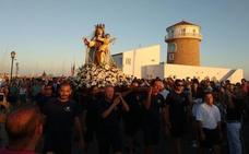Almerimar y Balerma viven con devoción la procesión de la Virgen del Carmen