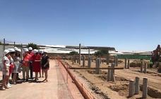 Arrancan las obras de ampliación del colegio Miguel Servet de Balerma con un nuevo edificio