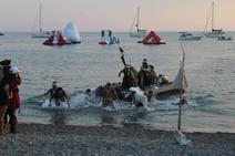 Los piratas llegan a la costa de Almerimar