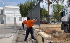 El Consistorio aprovecha el verano para mantenimiento en los centros escolares