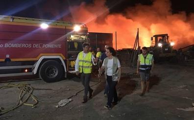 El incendio en la planta de reciclaje de plástico Demaplastic, controlado