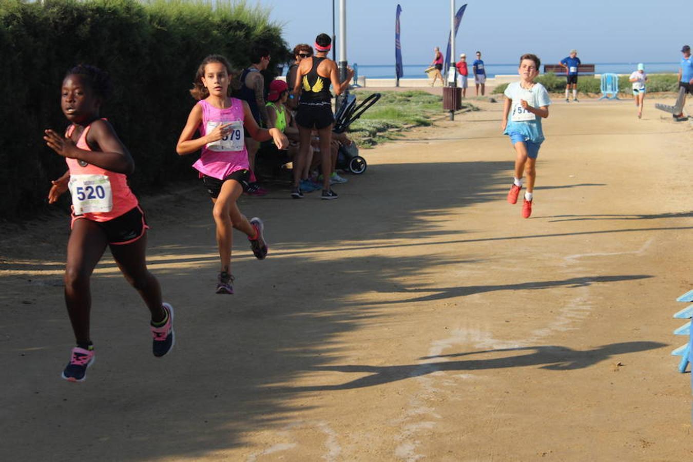 Los pequeños corren el Gran Premio Murgiverde en Almerimar