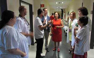 El Hospital de Poniente acomete obras de mejora en las plantas cuarta y quinta del área de Hospitalización
