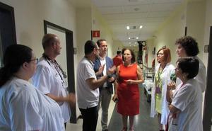 El Poniente reforma las plantas cuarta y quinta en el área de hospitalización