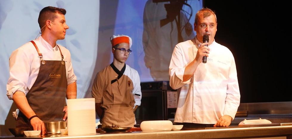 Álvarez y Gázquez inauguran Almería Gourmet