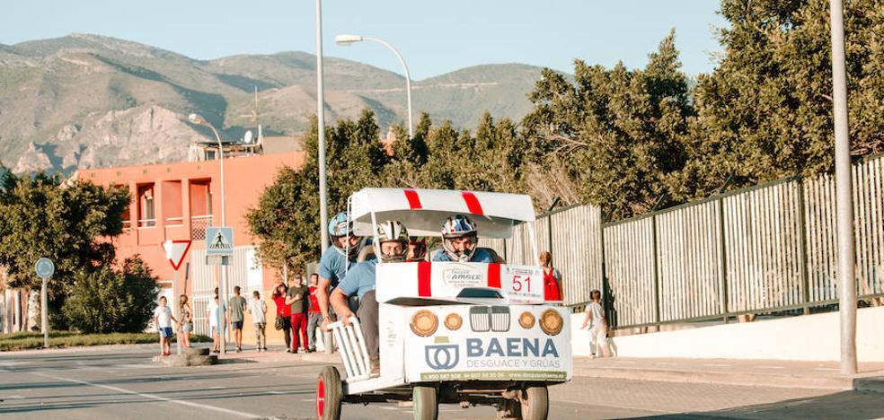 Las calles de Santa María del Águila se preparan para vivir la carrera más 'loca'