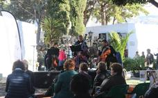El cementerio de El Ejido, escenario de un concierto de clásico