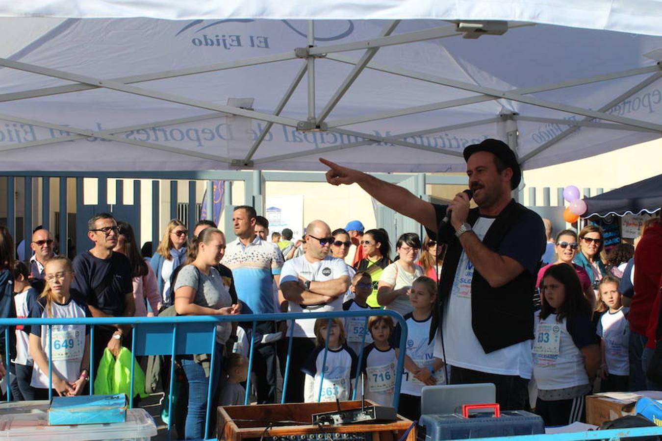 El Cross Urbano Solidario cuenta con unos 600 participantes por una buena causa